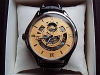 Наручные часы Omega Skeleton (темно-желтый циферблат)