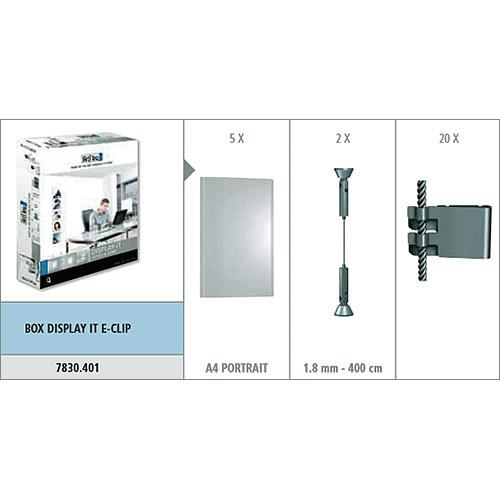 Галерейная подсветка Box Display It E-clip 7830.401 856594