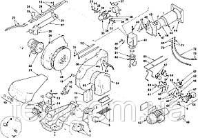 Запасные части к горелке Riello RLS 70 100 130