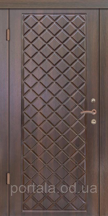 """Вхідні двері для вулиці """"Портала"""" (Люкс Vinorit) ― модель Мадрид-2"""
