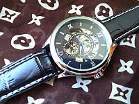 Наручные часы Omega Skeleton (черный циферблат)