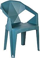 Кресло пластиковое Special4You MUZE TEALBLUE PLASTIC (E0680)