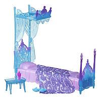 """Набор Холодное сердце """"Ледяная Кровать Эльзы""""Disney Frozen Icicle Canopy Bed Set"""