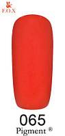 Гель-лак F.O.X 065 Pigment 6 мл