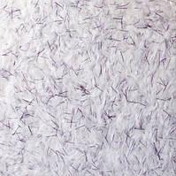 Жидкие обои шелковые № 915 белый с фиолетовыми вкраплениями