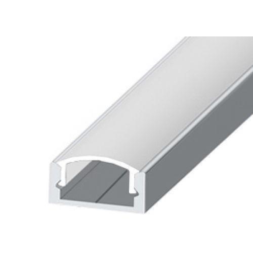 Профиль алюминиевый ЛП7 Biom (комплект профиль+линза), 2м
