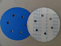 Круг шліфувальний на ліпучці Klingspor PS 21 FK d150 P-100 GLS3 (в асортименті)