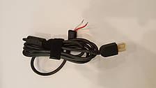 DC кабель питания для БП LENOVO 90W USB+pin, 2 провода (2x1мм) (Square 5 Pin DC Plug
