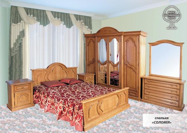 Спальня Соломия ЮрВит (комплект)