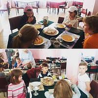"""Питание в лагере """"Украиночка"""""""