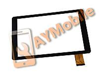 """Сенсор (тачскрин) 10.1"""" SIGMA X-Style Tab A101 50 pin 257x147 mm black"""