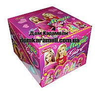 Шоколадное яйцо пластиковое Toy Egg Принцессы 24 шт, 15 гр (Prestige)