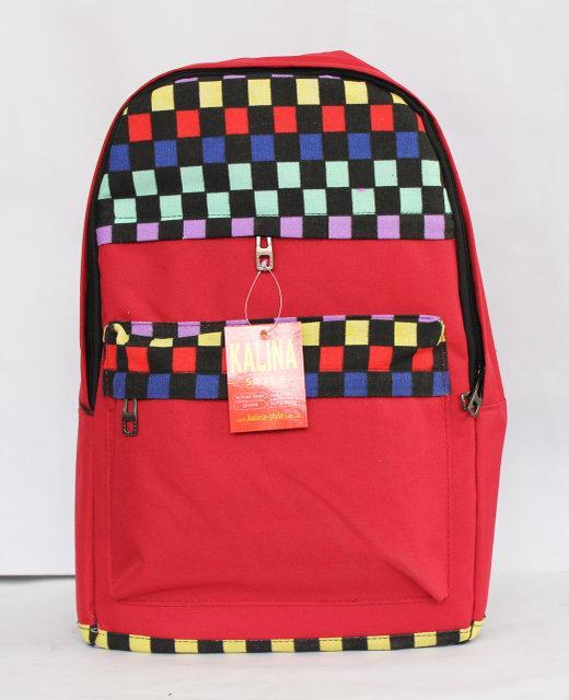 Молодіжний, стильний рюкзак з цікавим принтом