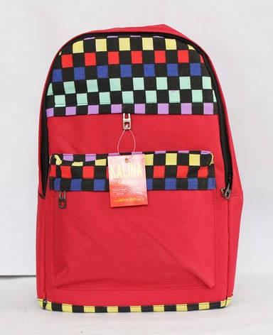 Молодіжний, стильний рюкзак з цікавим принтом, фото 2