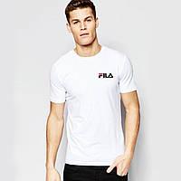Мужская футболка Fila с маленьким лого