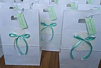 Свадебный пакет для каравая ручной работы