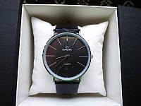 Часы Omega classic (черная классика)