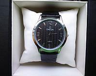 Часы Omega new (черная новинка)