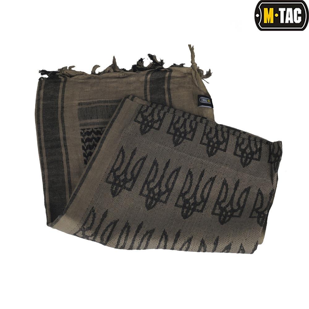 M-Tac шарф шемаг с Тризубом Dark Earth/Black