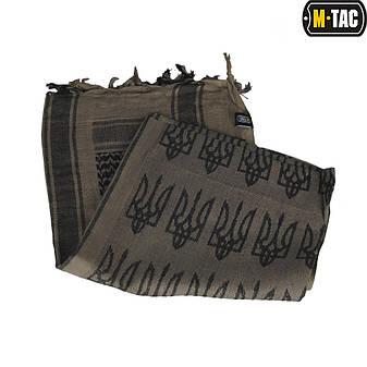M-Tac шарф шемаг с Тризубом Dark Earth/Black, фото 2