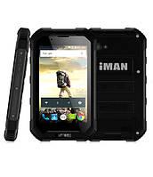 """Защищенный смартфон IMAN X5 black IP67 (2 SIM) 4,5"""" 1/8 GB 0,3/5 Мп 3G"""