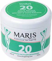 """Сахарная паста мягкой консистенции для шугаринга зоны ног и бикини Марис/Maris """"20"""" - 790гр"""