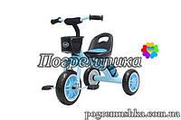 Детский трехколесный велосипед Turbo Trike 3197 Eva - Голубой