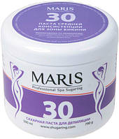 """Сахарная паста средней консистенции для шугаринга зоны бикини Марис/Maris """"30"""" - 790гр"""