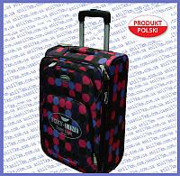 Средний супер лёгкий чемодан на двух колёсах фирмы FOXY LINE
