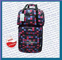 Средний супер лёгкий чемодан на двух колёсах фирмы FOXY LINE +сумка