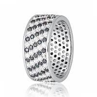 Серебряное кольцо с фианитом КК2ФО/372 - 18,1