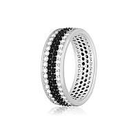 Серебряное кольцо с фианитом КК2ФО/373 - 18,1