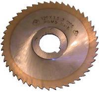 Фреза дисковая ф125х2,5, z=80 Р6М5