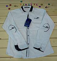 Стильная рубашка  для мальчика на рост 134-146 см