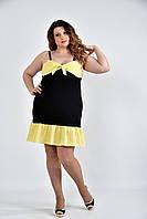 Желтое платье 0499-3