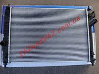 Радиатор охлаждения основной Авео Aveo T255 Вида Vida алюминиево-паянный оригинал Корея GM 623062, фото 1