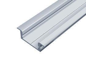 Профиль алюминиевый врезной ЛПВ7 Biom (комплект профиль+линза), 2м