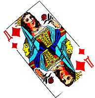 """Карты игральные """"Дама"""" 36 карт/колода, фото 1"""