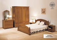 Спальня Эльза ЮрВит (комплект) Спальня