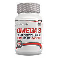 Жирные кислоты BioTech Omega 3 | 90 капс