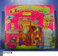 Кукольный Домик с машиной - My Lovely Villa 6981