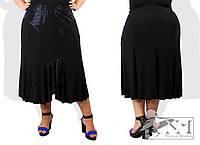 """Стильная женская юбка для пышных дам """"Классика"""""""