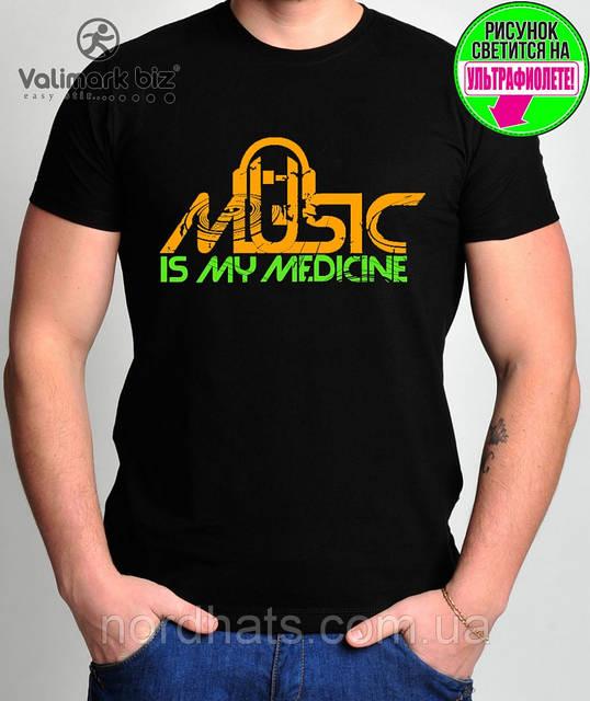 "Футболка молодежная ""Music Medicine "" Валимарк"