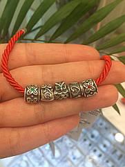 Комплект шармов Пандора серебро 925 пробы