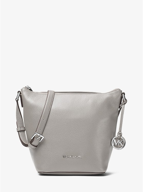 Сумка Michael Kors Bedford Medium Leather Crossbody gray 30T7SBFM2L