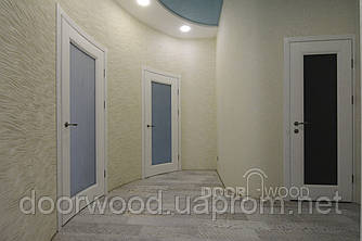 Радиусная межкомнатная дверь модель Iren