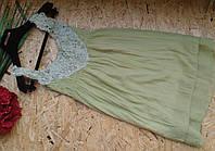Блузка туника Джульетта 13457 оливка 42-44р