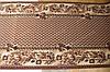 Килимова доріжка плетіння коричнева