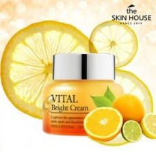 The skin house Vital Bright Cream Осветляющий крем