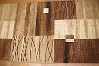 Ковровая дорожка квадраты коричневые